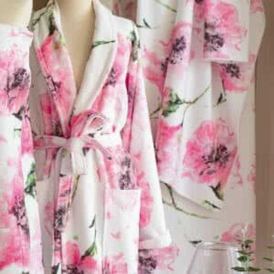Элитный женский халат Blumarine (Италия) Anemone Rosa