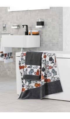 Полотенце Feiler (Германия) Cats для ванны