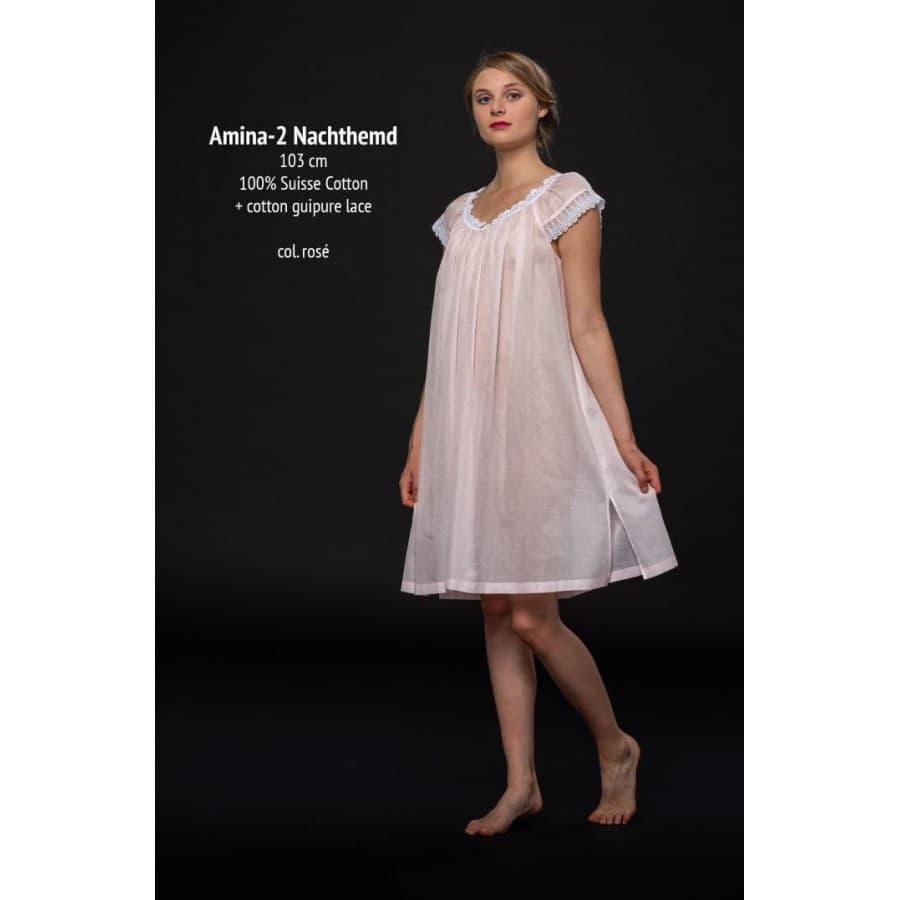 Сорочка Celestine (Германия) AMINA-2 NG розовая