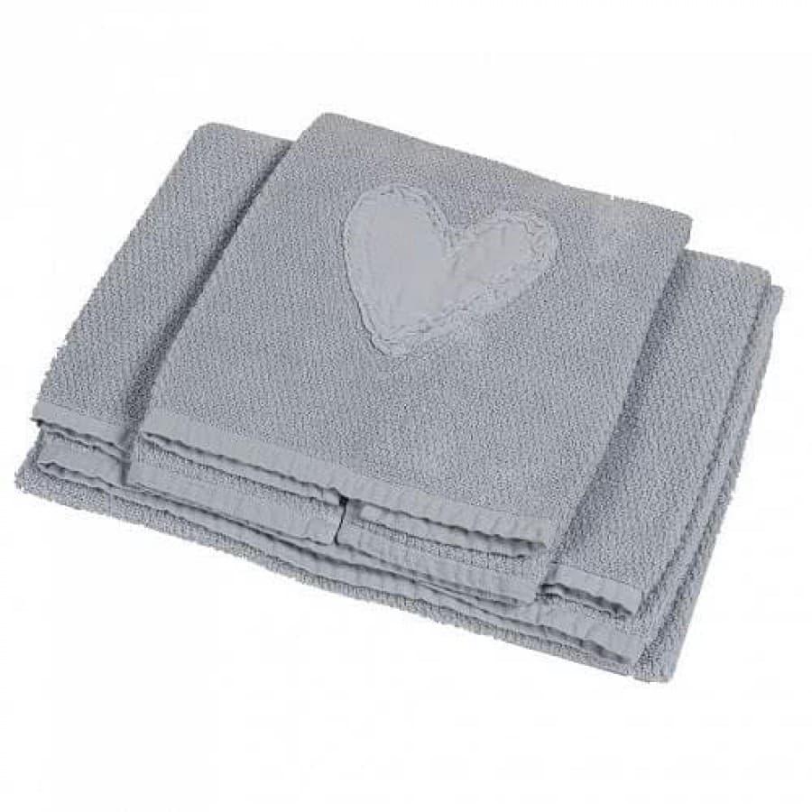 Набор полотенец La Perla HEART голубой