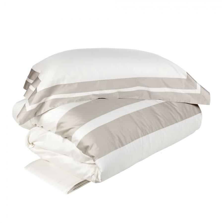 Постельное белье La Perla ARPA бело - серое