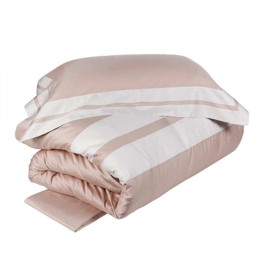 Постельное белье La Perla ARPA бело - розовое