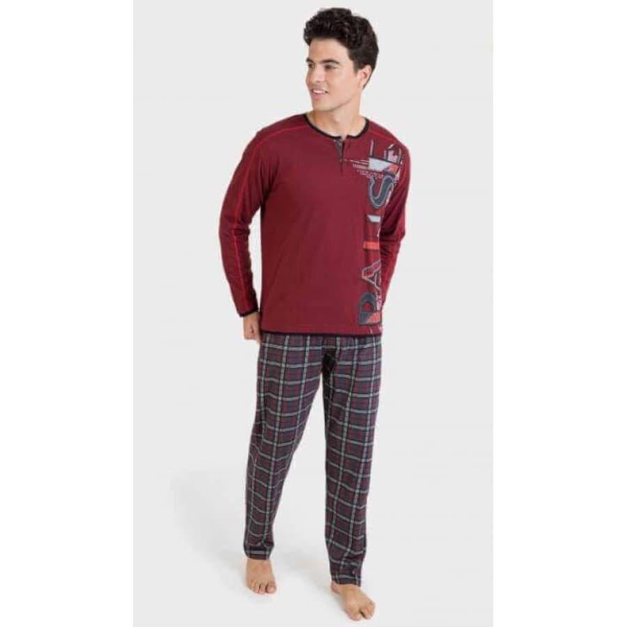 Пижама мужская Massana M11 DEEP RED-VIGOR