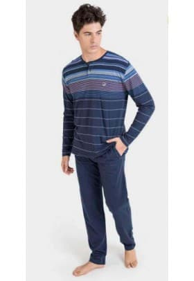 Пижама мужская Massana F69 DARK BLUE