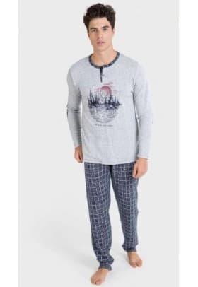 Пижама мужская Massana 823 GREY VIGORE