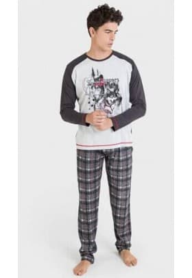 Пижама мужская Massana 823-1 GREY VIGORE