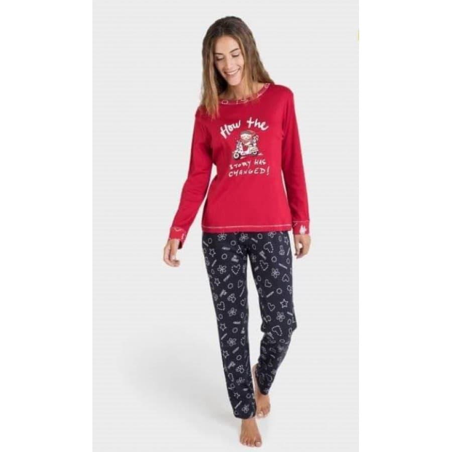 Пижама женская Massana 299 REDD P701202
