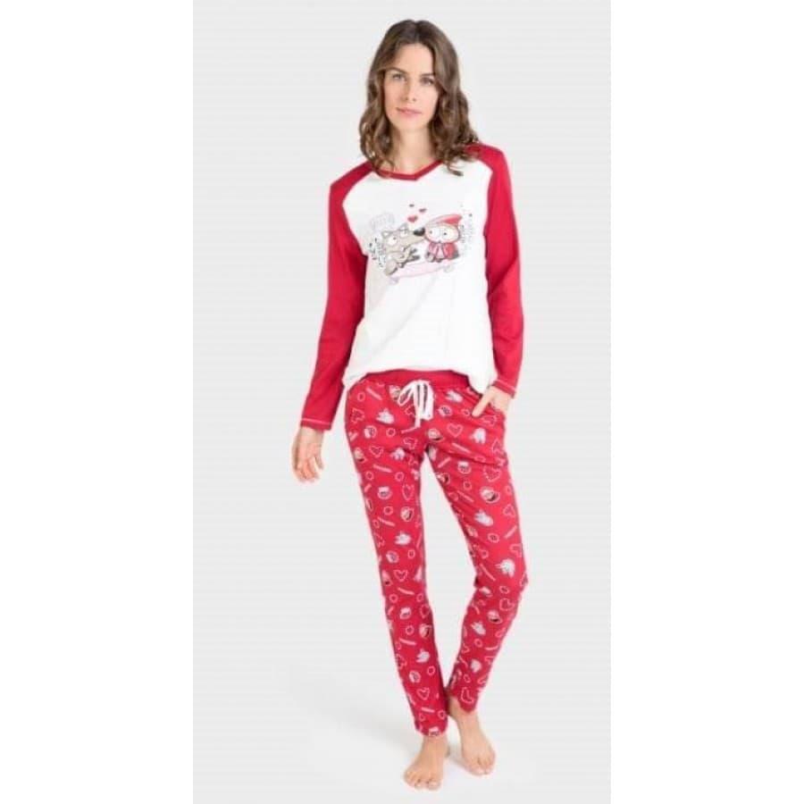 Пижама женская Massana 299 REDD
