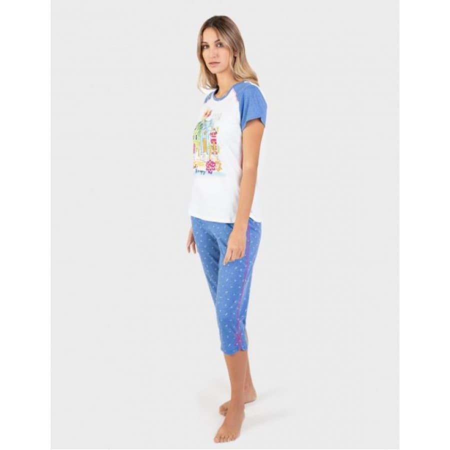Пижама женская Massana 001 WHITE