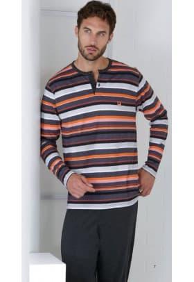 Пижама мужская Massana H47 ORANGE
