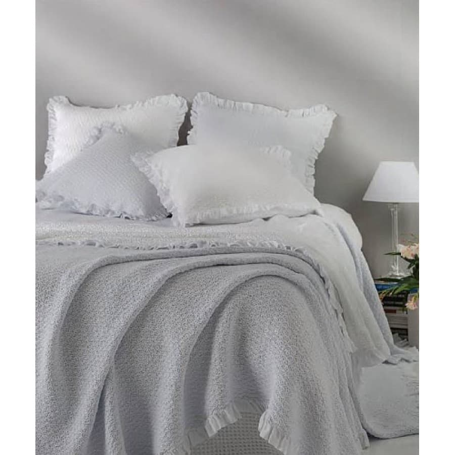 Покрывало Mirabello ARLES N01 Ghiacco (серый)