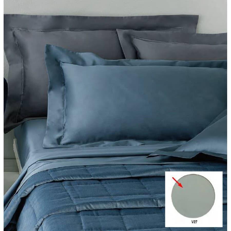 Постельное белье Mirabello семейный PRECIOUS серый,синий