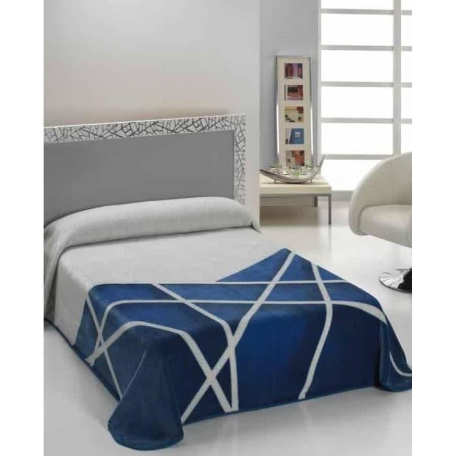Плед Mora (Испания) HARMONY синий