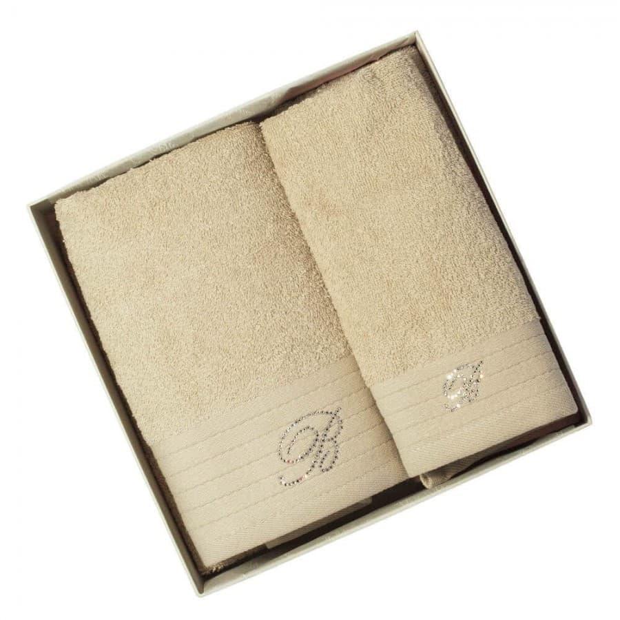 Махровые полотенца Blumarine (Италия) Sand 2 шт