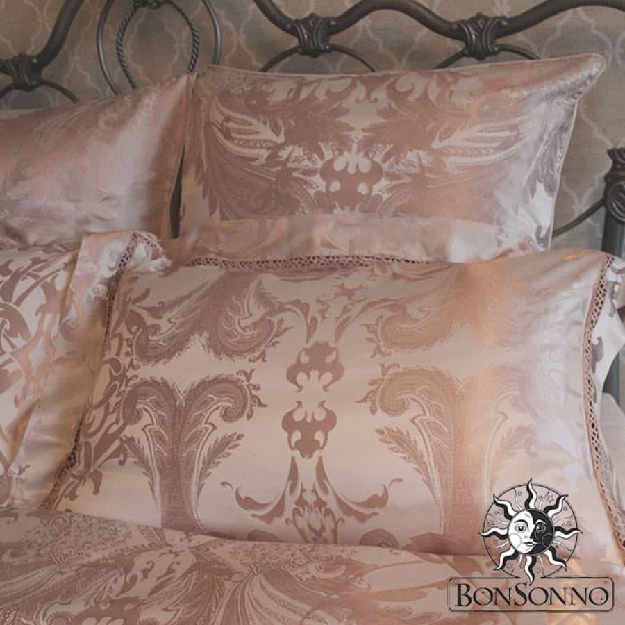 Комплект постельного белья шелк Bonsonno LOUVRE.
