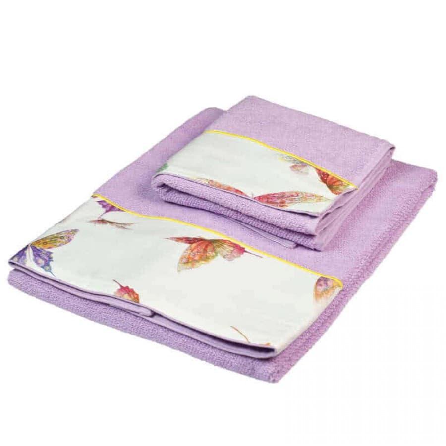 Набор полотенец Mirabello (Италия) Butterfly Violet