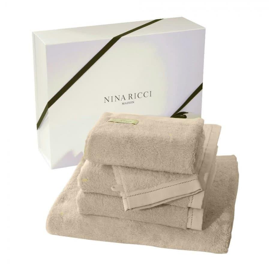 Набор полотенец Nina Ricci (Франция) 5 шт. Nougat