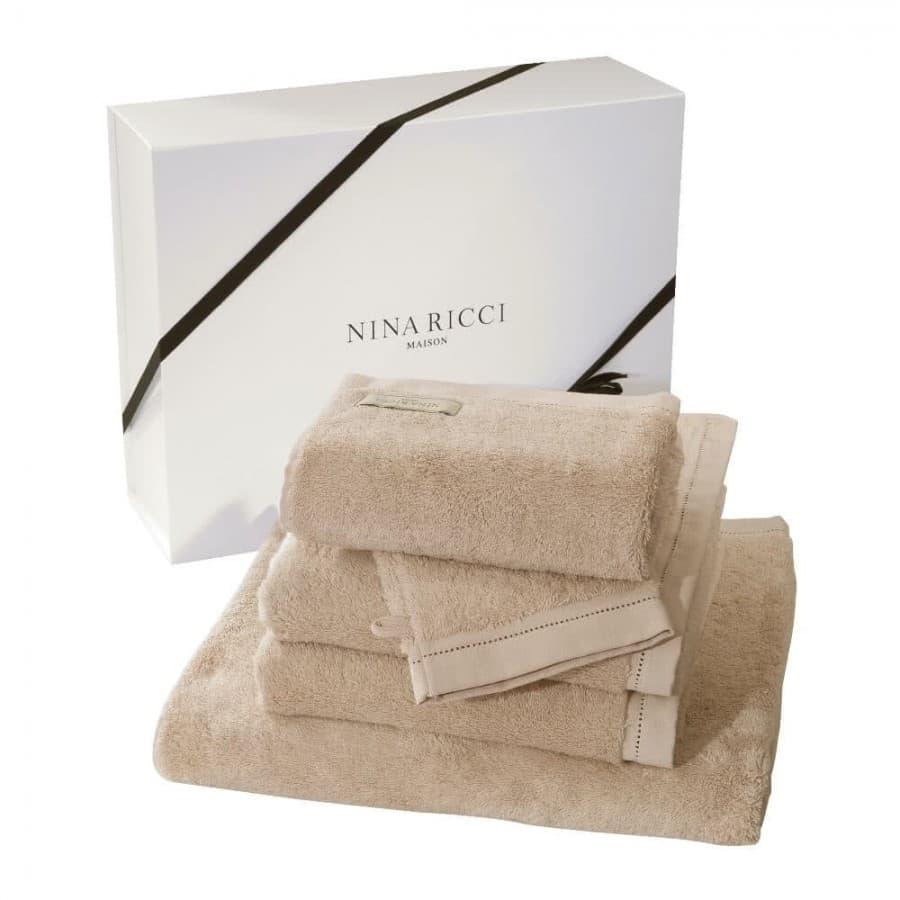Набор полотенец Nina Ricci (Франция) 5 шт. Nude