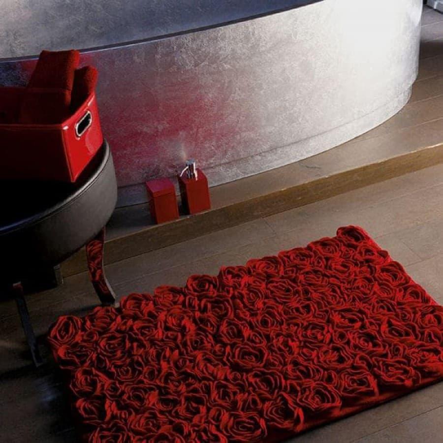 Коврик для ванной Aquanova ROSE red