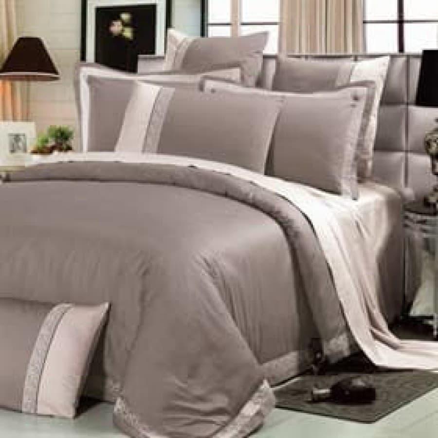 Комплект постельное белье люкс сатин Asabella 611
