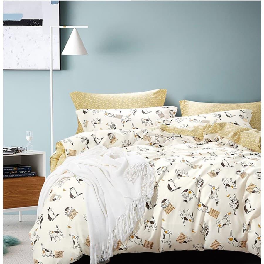 Комплект постельного белья сатин Asabella 1010.