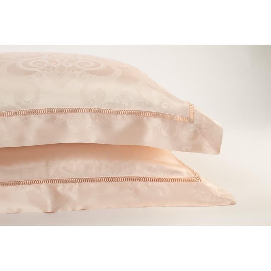 Комплект постельного белья шелк Bonsonno Milano.
