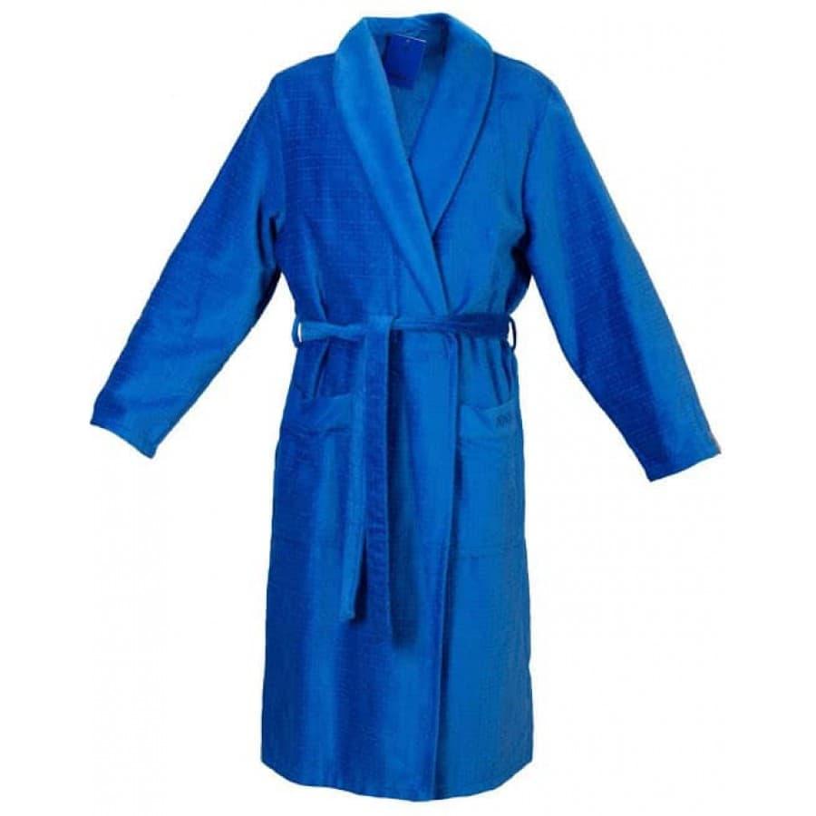 Халат велюровый мужской JOOP - Cawo 1639 синий