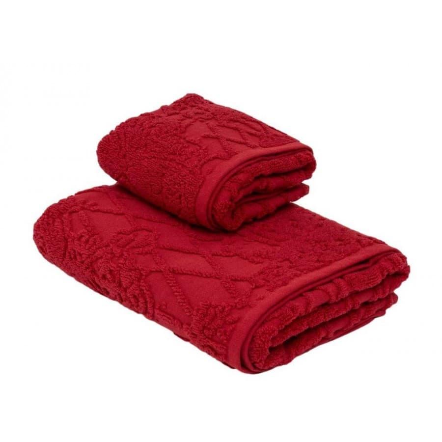 Набор полотенец La Perla VERMEER красный