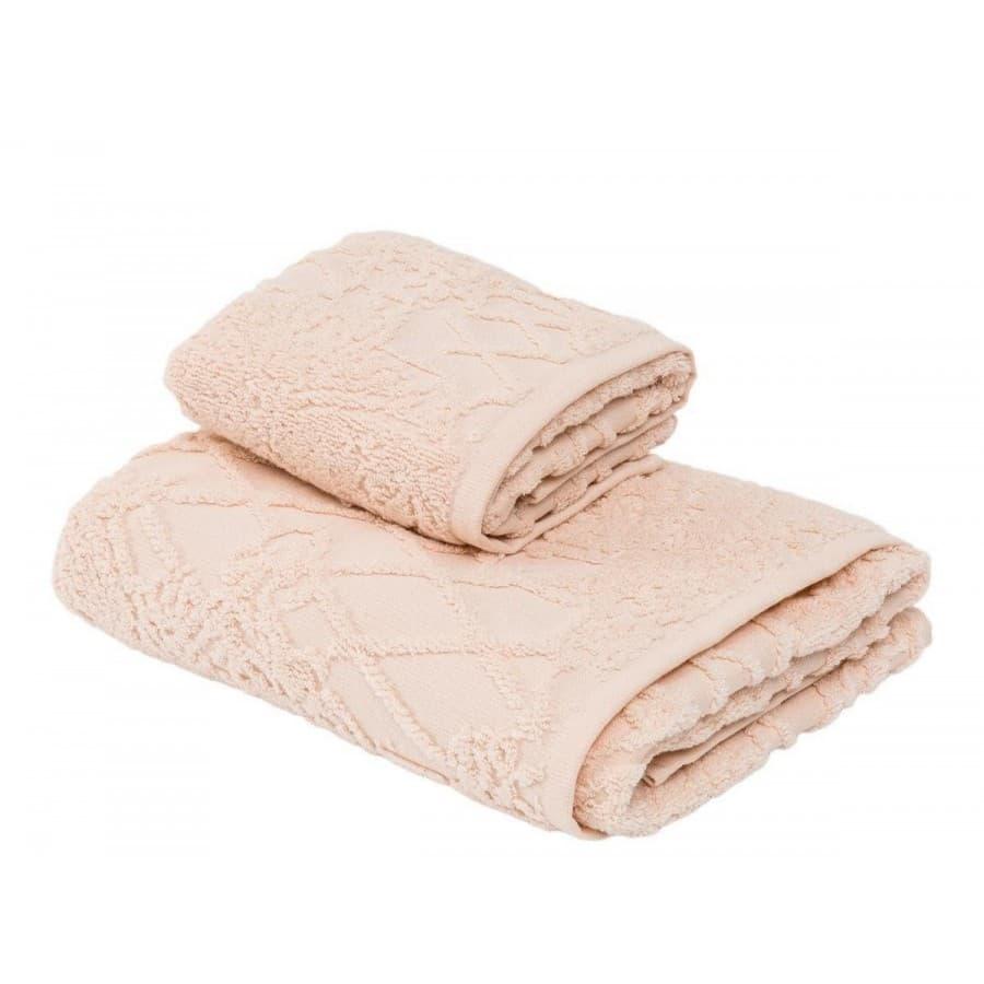Набор полотенец La Perla Италия VERMEER розовый