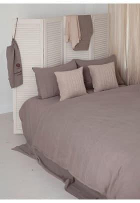 Постельное белье Luxberry Bedroom Line натуральный, графит