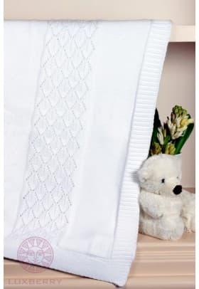 Плед детский Luxberry Imperio 283 белый,кремовый
