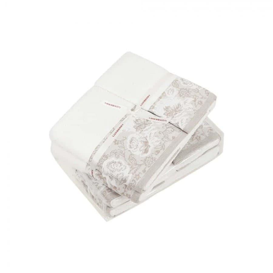 Комплект полотенец Luxberry FLOWERS для ванны