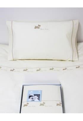 Детское постельное белье Luxberry СОБАЧКИ NEW беж