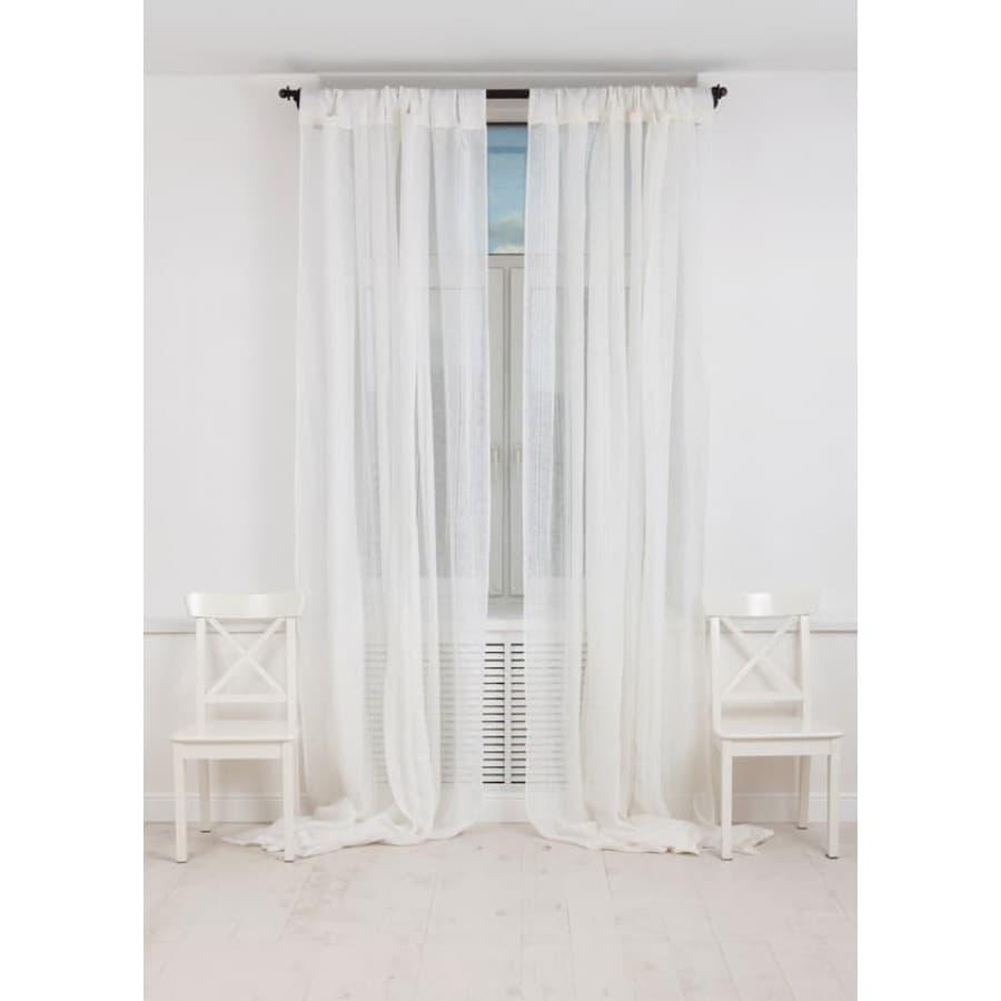 Шторы Luxberry Curtain line белые