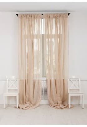 Шторы Luxberry Curtain line экрю