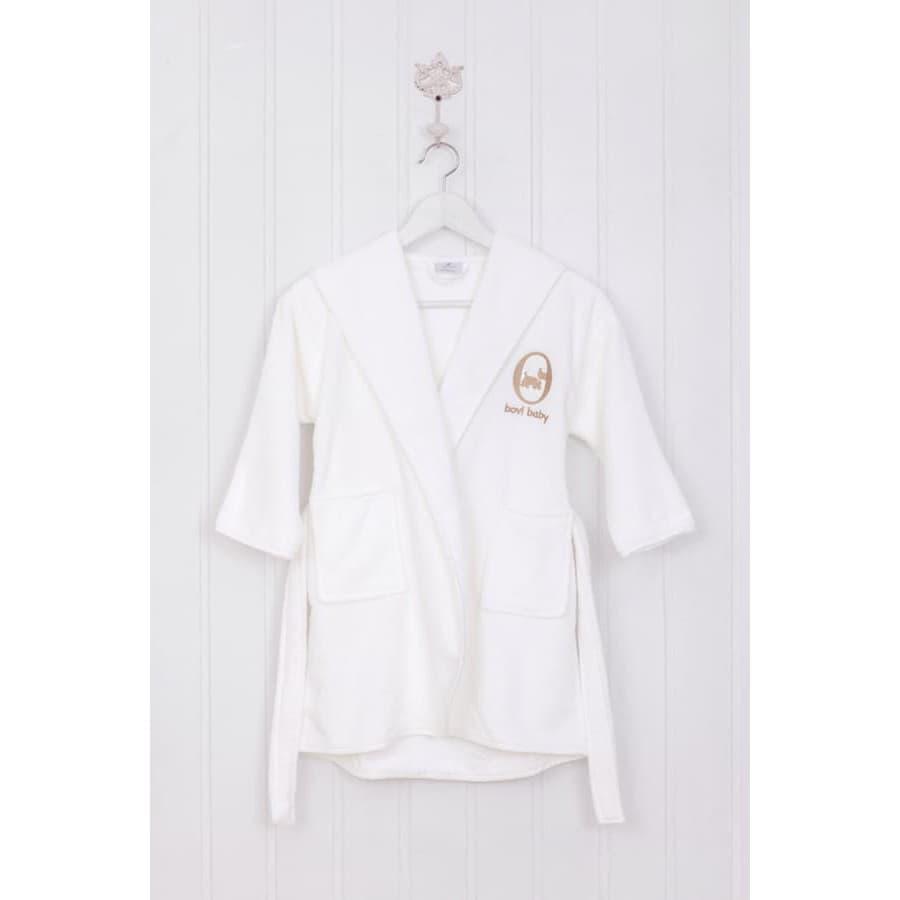 Махровый детский халат Luxberry СОБАЧКИ