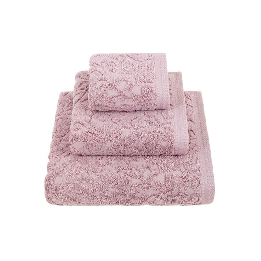 Комплект полотенец Luxberry ROYAL розовый