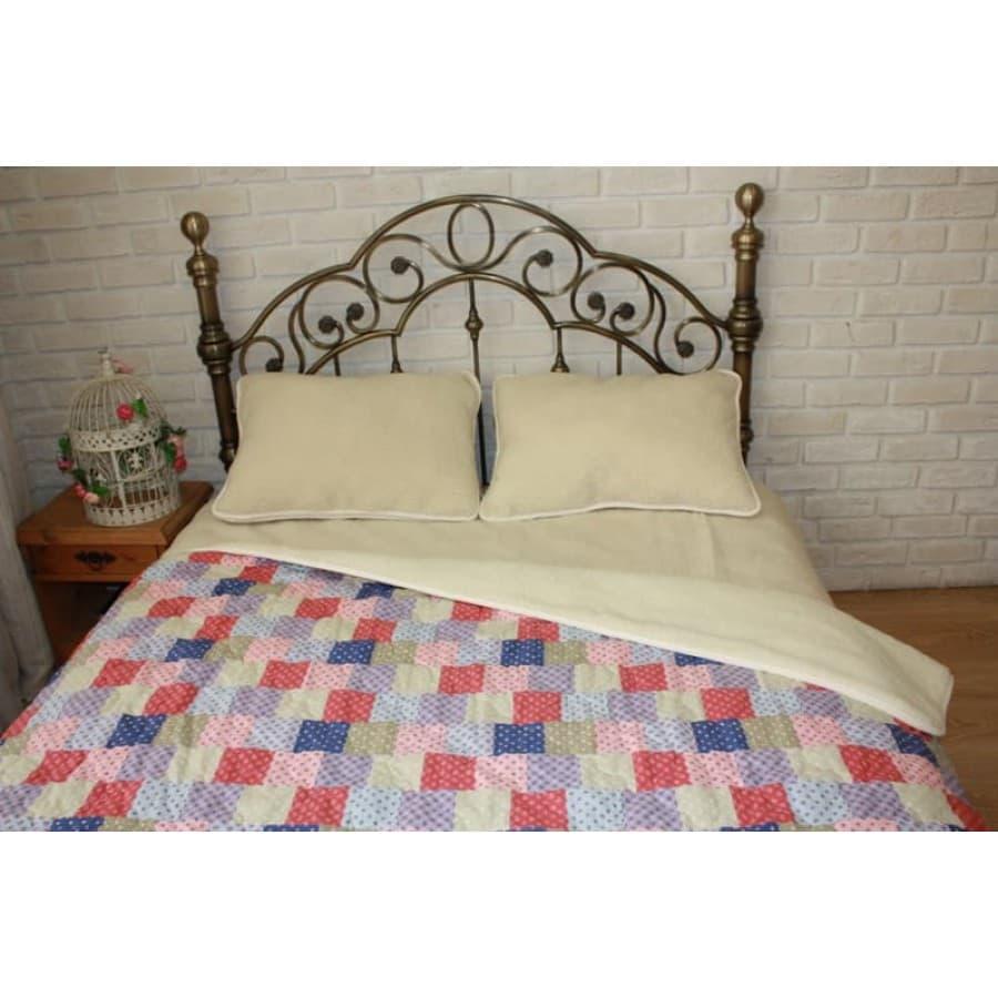 Одеяло тёплое Magic Wool Локон-Пэчворк