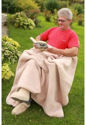 Плед Magic Wool Лама