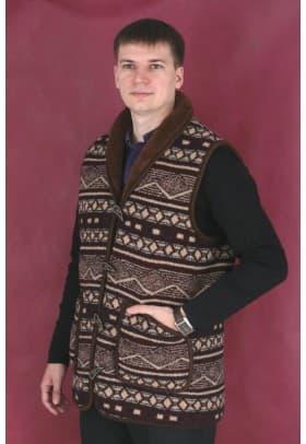 Жилет шерстяной мужской  MagicWool Аляска