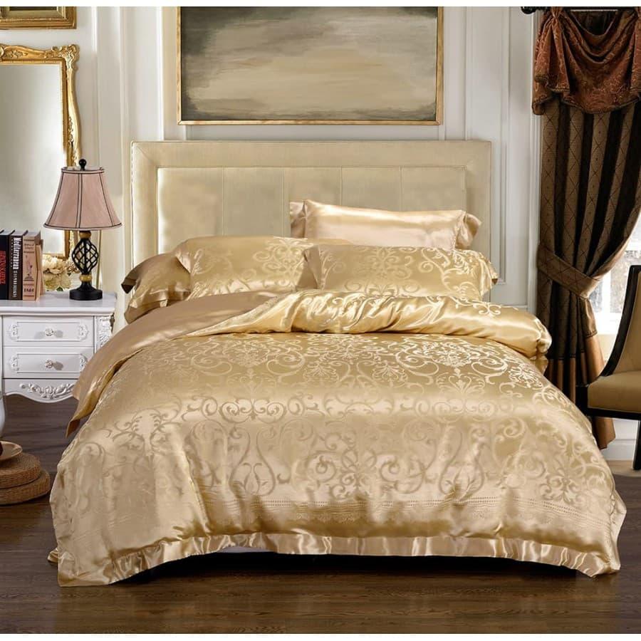 Комплект шелкового постельного белья Лизарди