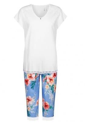 Пижама с бриджами Rosch BLUE HIBISKUS