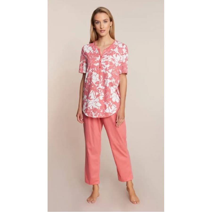 Пижама женская Rosch MONO FLOWERS