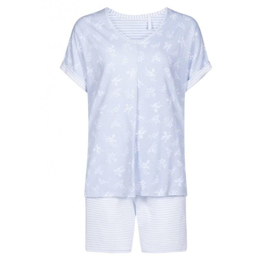 Пижама с шортами Rosch MONO FLOWERS