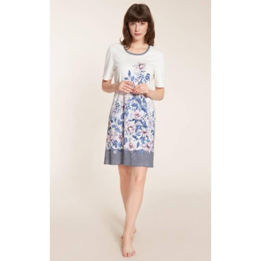 Платье-сорочка Rosch PLACED PRINT