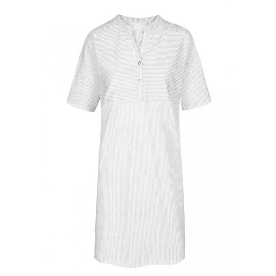 Сорочка-рубашка женская Rosch (Германия) FLOWER STRIPE 1203011