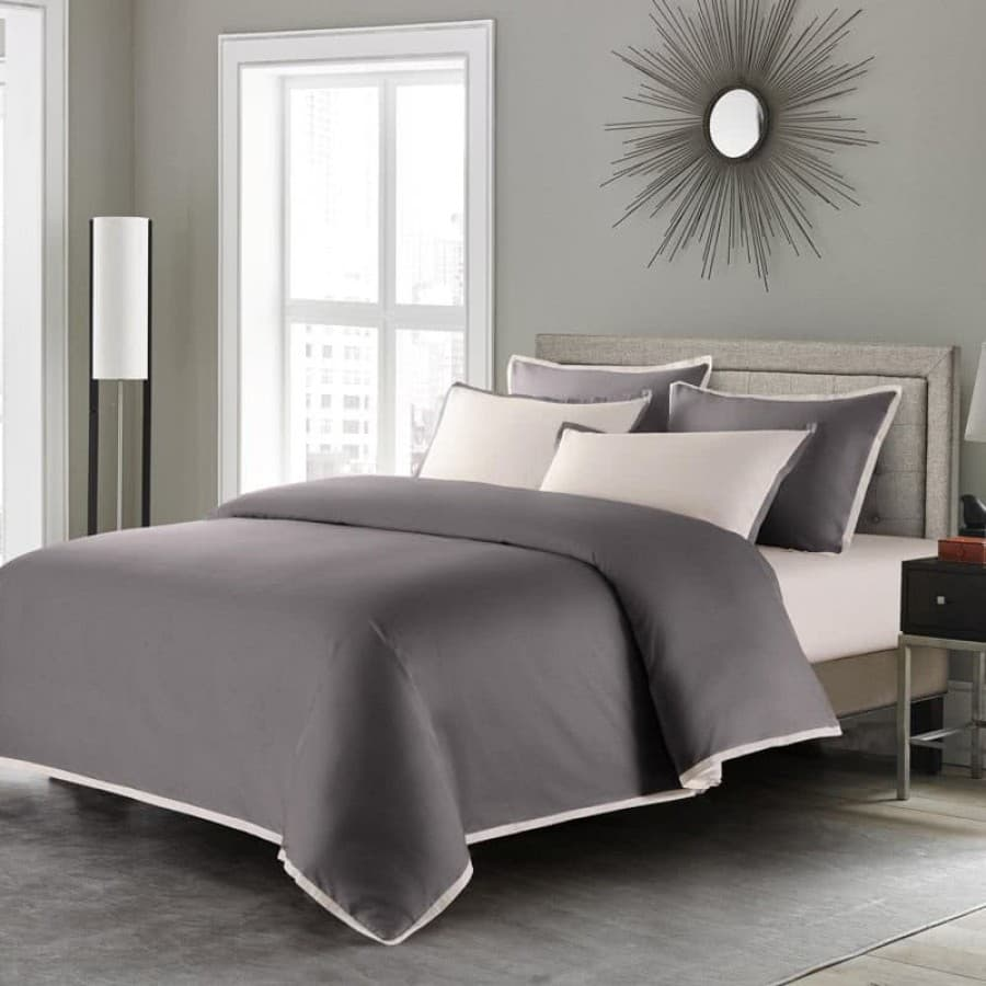 Однотонное постельное белье Coctail графит