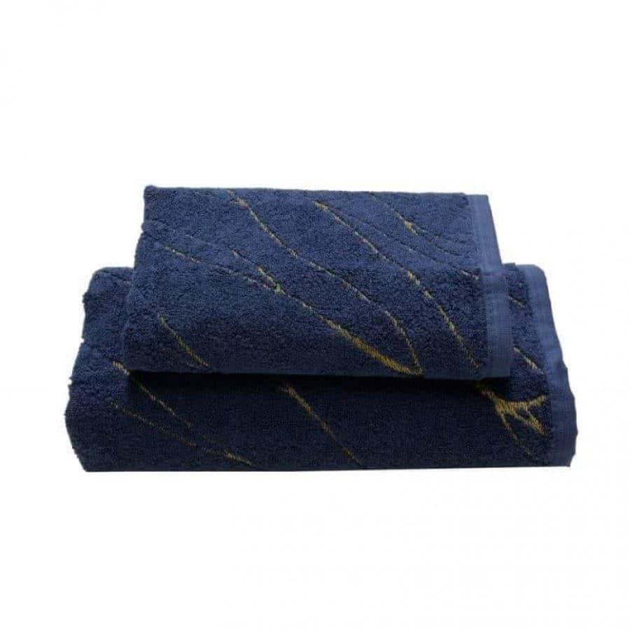 Набор полотенец Somma (Италия) AURUM синий