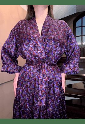 Шелковый халат Veronique (Франция) Слесартин унисекс