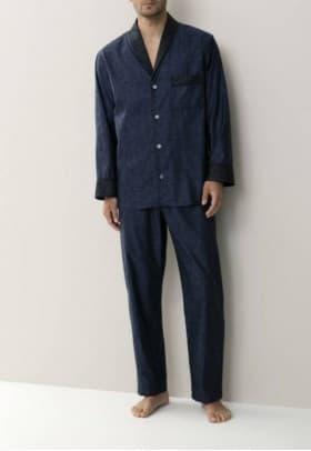 Пижама мужская Zimmerli BLUE BLACK